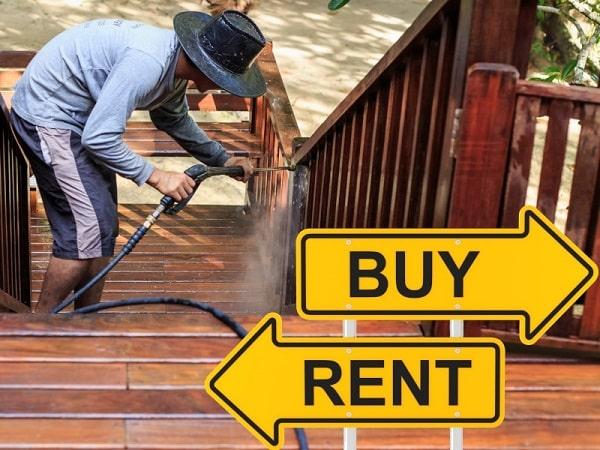 خرید یا اجاره کارواش خانگی